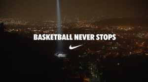Nike Basketball Never Stops commercial