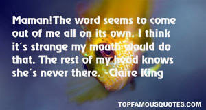 Claire King Quotes Pictures