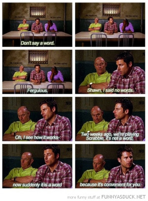 psych tv scene don't say word scrabble funny pics pictures pic picture ...