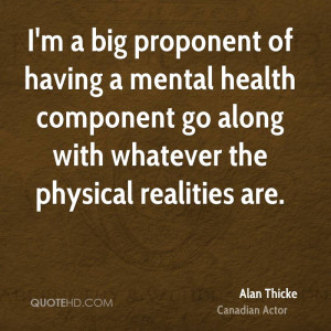 Alan Thicke Health Quotes