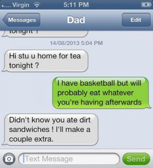 Selection of hilarious dad jokes.
