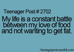 fat, food, get fat, life, lol, love, love of food, post, posts, quote ...