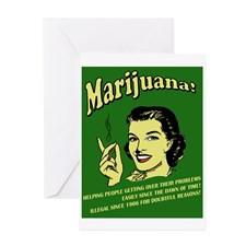 MARIJUANA. Legalize marijuana Greeting Cards (Pack for
