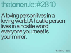 everyone you meet is your mirror meaning