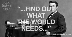 Thomas Edison Quotes Thomas edison on business