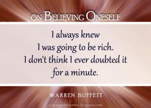 Warren Buffett's Top 30 Inspirational Graphic Quotes