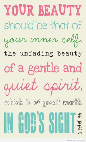 True beauty quote / Genius Quotes on imgfave