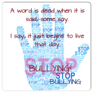 Stop Bullying Quotes And Sayings Stop Bullying Quotes And Sayings