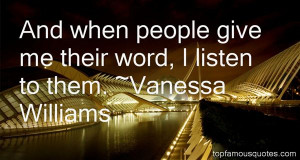 Favorite Vanessa Williams Quotes