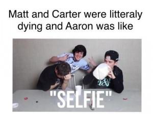 Aaron Carpenter funny