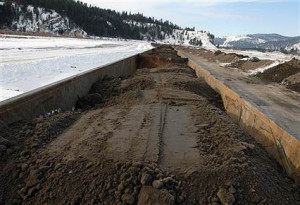 Toxic mud is hauled out of Montana town