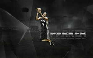 Tony Parker.Wallpaper by 31ANDONLY