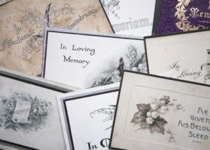 sample of sympathy cards with sayings