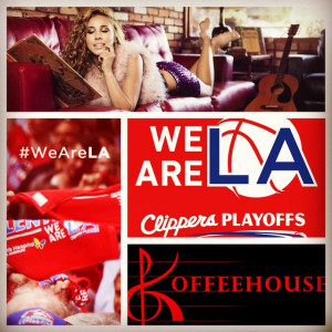 Haley Reinhart singing the national anthem on 5-2-15, NBA, Clippers Vs ...