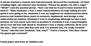 ... Funny Jokes // Tags: funny adult jokes , Funny joke - Divorced Virgin