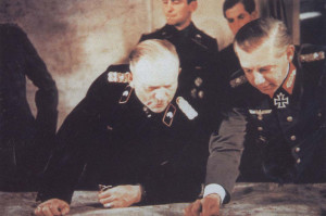 Heinz Guderian memakai Eichenlaub No. 24