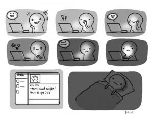 art comic internet friends my feels