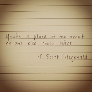 ... Quotes , F Scott Fitzgerald Love Quotes Tumblr , F Scott Fitzgerald