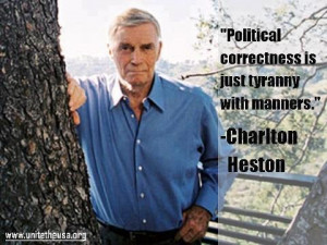 Charlton Heston quote