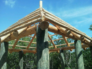 Outdoor Wood Shade Structures