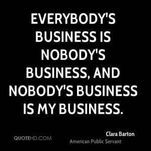 Clara Barton Quotes