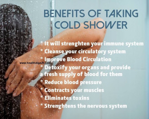 DID YOU KNOW Benefits Of Taking Cold Showers