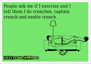 Funny Motivational Quotes For Working Out #6