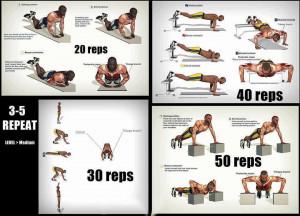 upper body exercises