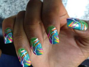 Ghetto Duck Feet Nails Designs
