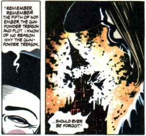 Remember, remember the fifth of November.