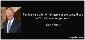 More Jerry West Quotes