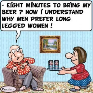 Why Men Like Long-Legged Women: oh, that's why women think we are all ...