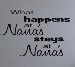 Nana Quotes Nana Quotes What happens at