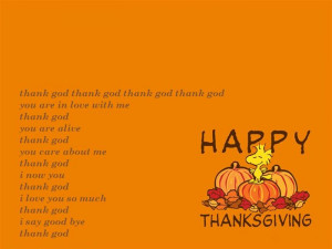 """Thanksgiving Is The Good Time To Say """"Thank You"""" With Some People ..."""