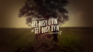 2560x1440 The Shawshank Redemption Quote YouTube Channel Cover