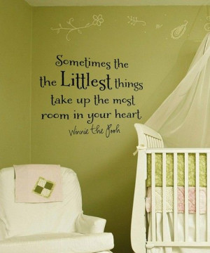 Baby Room Ideas – Wall Quotes!