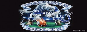 Indianapolis Colts Football Nfl 9 Facebook Cover