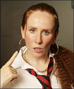 Catherine Tate bovvered by Christian ads