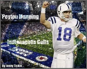 Peyton Manning Indianapolis Colts Image