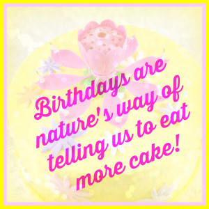 Fun Quotes - More Cake - Fire Blossom Candle