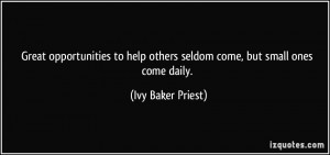 More Ivy Baker Priest Quotes