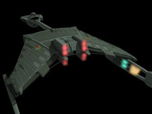 Klingon Battle Cruiser Zardoz