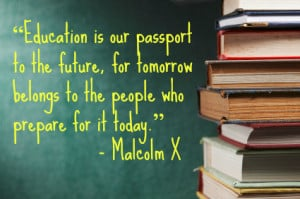 We are all preparing our children for tomorrow, and education is one ...