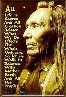 Native American Quote Black