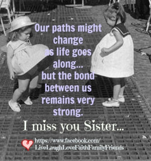 miss you sister...@ Chris Peters and Shar McDonald