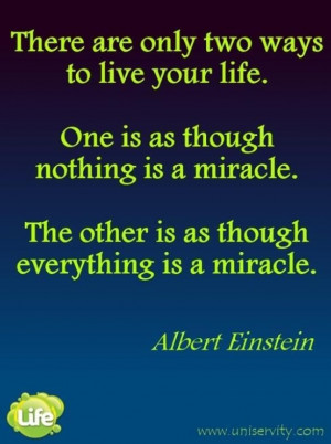Albert Einstein Beauty Quotes