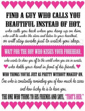 For my boys and girl. How to treat and be treated. by mrs.p.of.course