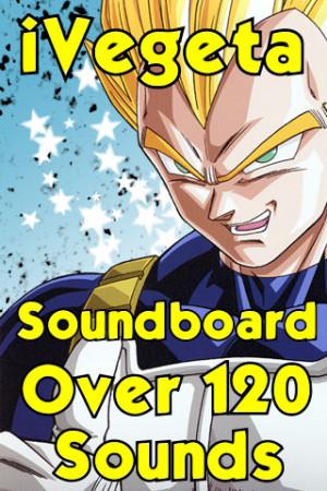 Amazing Vegeta Soundboard 120+ sounds