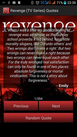 Revenge (TV Series) Quotes