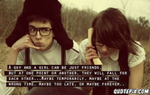 Boy And Girl Friendship Quotes